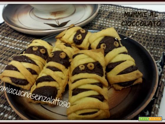 Mummie al cioccolato senza lattosio – ricette di Halloween