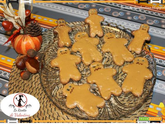 Biscotti mostro di fango per Halloween (con farina integrale e zucchero di canna)