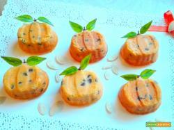 Piccole zucche dolci Halloween