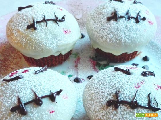 Muffin Fantasma Halloween