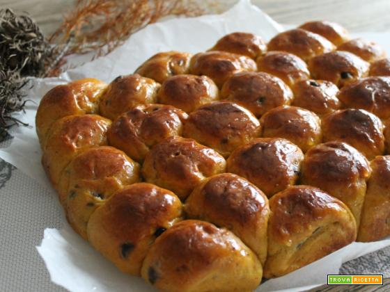 Facciamo il pan brioche zucca e cioccolato?