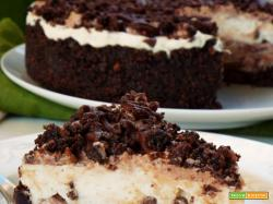 Cheesecake cioccolato mascarpone e nutella