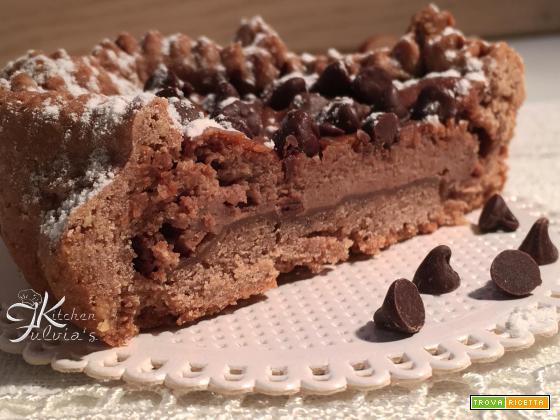 Crostatine al cioccolato e ricotta