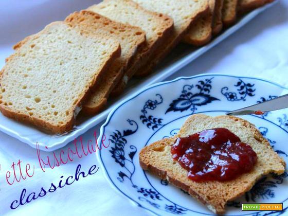 Fette biscottate perfette per una colazione sana e genuina!
