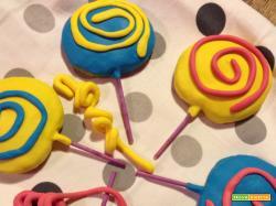 Lollipop Cookies per carnevale