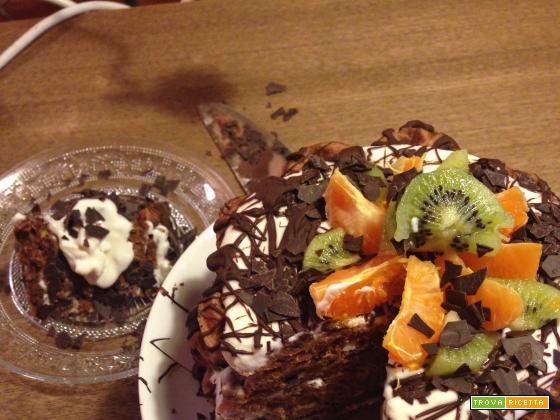 Waffle Cake