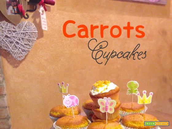 Carrots Cupcakes