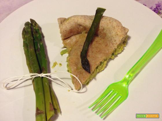 Panada my style con ripieno di asparagi e ricotta