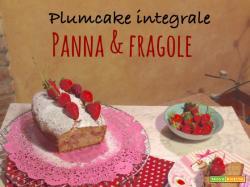 Plumcake integrale panna e fragole