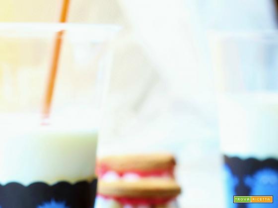 Denti di Dracula (biscotti con marshmallow e philadelphia)