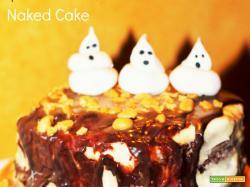 Halloween Naked Cake - Sponge Cake al cacao