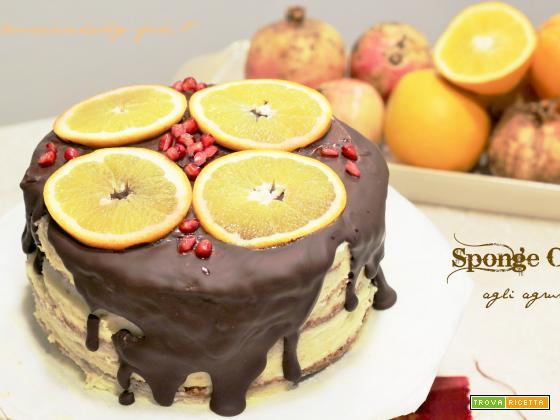Sponge Cake agli agrumi