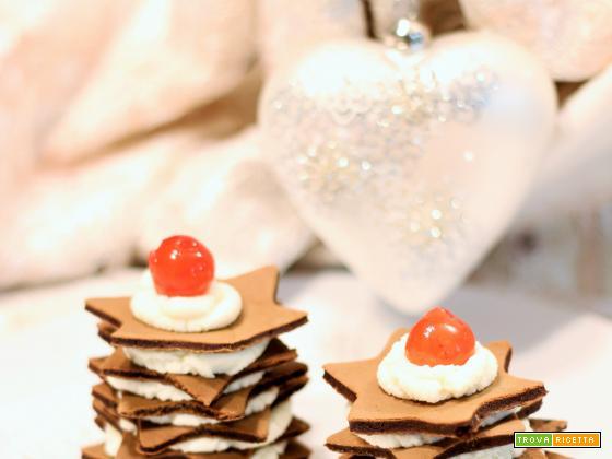 Tortine di crepes al cacao con Camy Cream