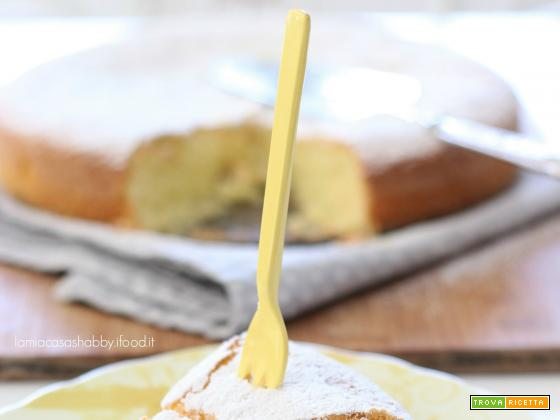 Torta soffice al limone (senza glutine)