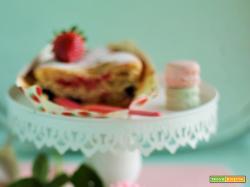 Plumcake yogurt e frutti di bosco