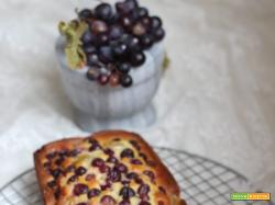 Plumcake soffice all'uva