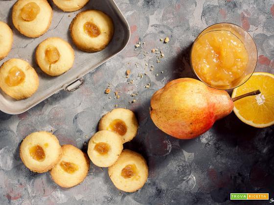 Frolle con marmellata alle pere e arance