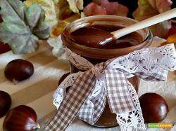 Crema di castagne e cioccolato