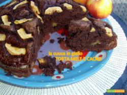 Torta mele e cacao
