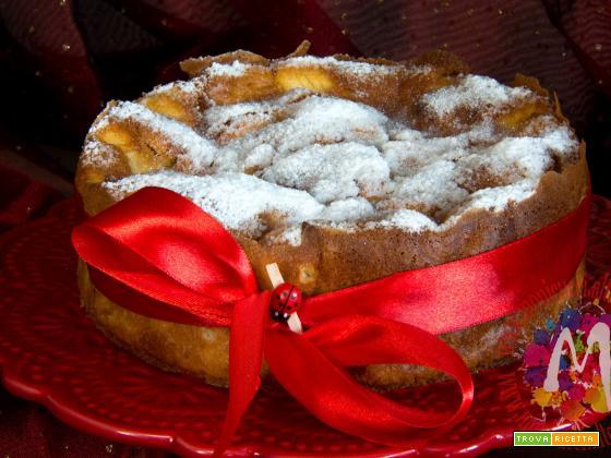 Flan di mele e cannella al profumo di Calvados