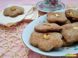 I biscotti con okara vegan e farine miste