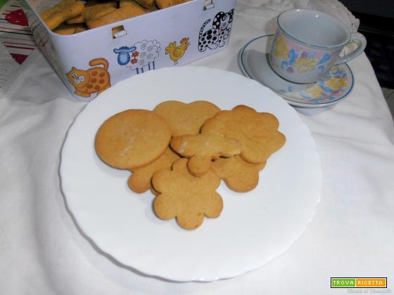 Biscotti di farina di ceci - senza glutine e senza lattosio