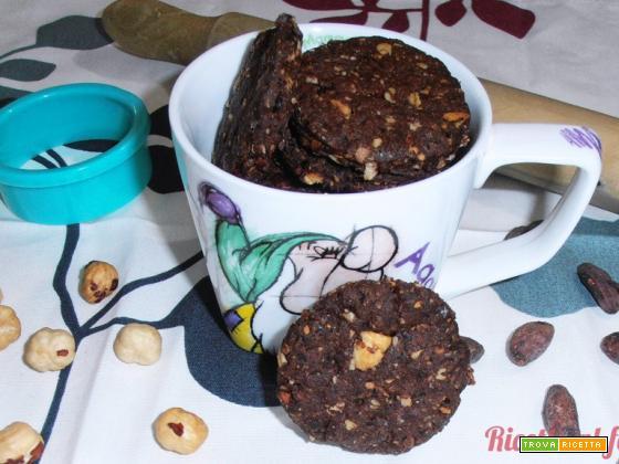 Biscotti grancereale al cioccolato (vegani)