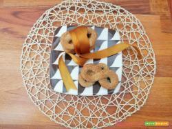 Biscotti molinetti senza uova