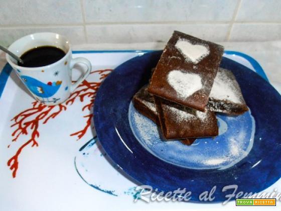 Brownie ricetta light con yogurt