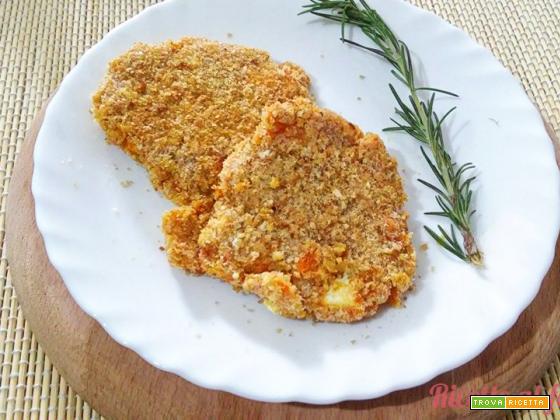 Burger quinoa con zucca e feta greca