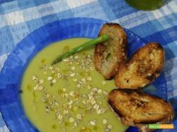 Crema di asparagi bimby - ricetta light