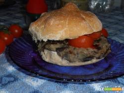 Hamburger di melanzane light (senza uova)