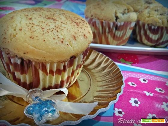 Muffin alla ricotta e cannella al profumo di limone