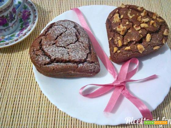 Muffin farina di castagne e nocciole vegan