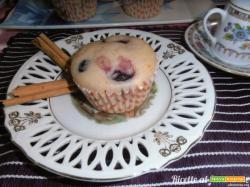 Muffin senza glutine e senza uova