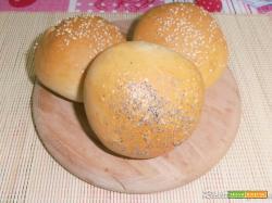 Panini all'olio con farina di farro