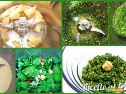 Pesto prezzemolo e nocciole con bimby