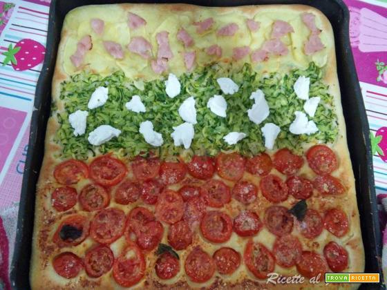 Pizza con impasto alla ricotta morbidissima