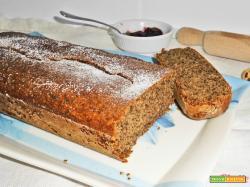 Plumcake al grano saraceno senza lattosio e senza glutine