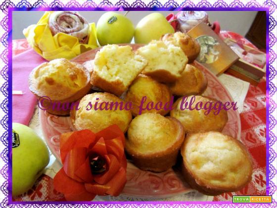 Muffin alle mele, ricetta facile e veloce