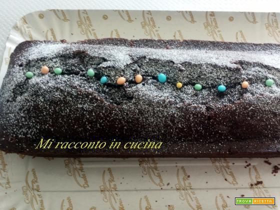 CAKE AL CIOCCOLATO AROMATIZZATO AL CAFFE'