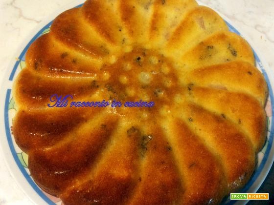 CAKE NOCI E FORMAGGIO VERSIONE GLUTEN-FREE