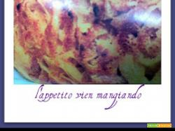 TAGLIATELLE ALL'EMMENTAL GRATINATE AMORE A PRIMA VISTA!!