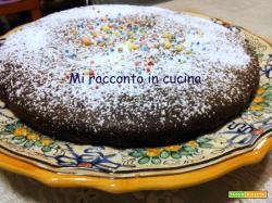 TORTA AL CIOCCOLATO SENZA UOVO E BURRO CON AMC
