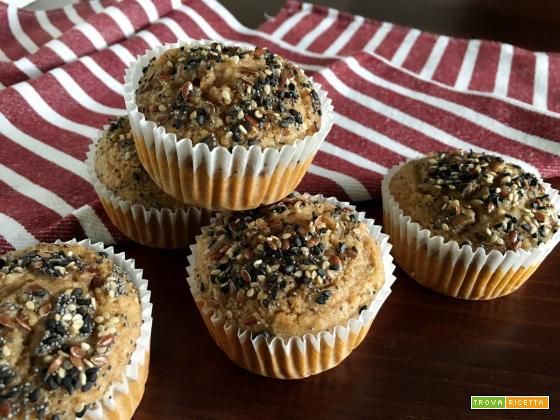 Muffin (Vegan) semplici e veloci Senza Zuccheri aggiunti!!!