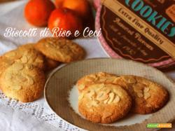 Biscotti di ceci, mandorle e farina di riso, ricetta senza uova, senza latticini e senza glutine