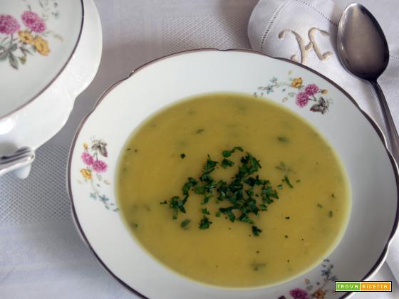 Vellutata di arracacha (Sopa de mandioquinha)