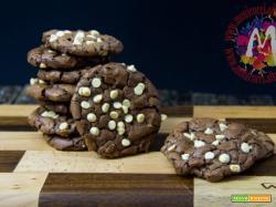 Cookies Americani al triplo cioccolato