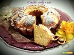 Ciambella ricotta e mele ricetta light