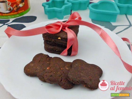 Biscotti con farina di carrube senza lattosio